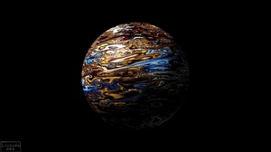 Abstract Sphere 3840x2160 wallpaper