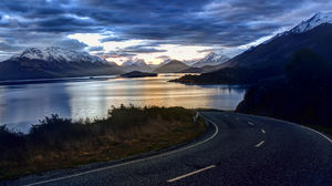 Cloud Landscape Mountain Road Scenic Sky 1920x1200 Wallpaper