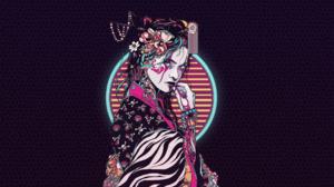 Illustration Digital Abstract Digital Art Futuristic 2560x1440 Wallpaper
