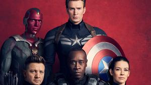Avengers Avengers Infinity War Captain America Chris Evans Clint Barton Don Cheadle Evangeline Lilly 2649x1490 Wallpaper