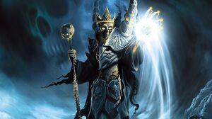 Demon Evil Fantasy Paladino Wizard 1920x1080 Wallpaper