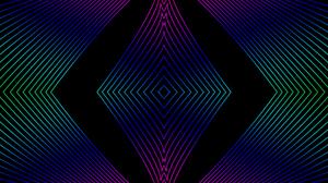 Lines Pastel Shapes 1920x1080 Wallpaper