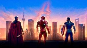 Avengers Avengers Endgame Captain America Iron Man Thor 5056x2844 Wallpaper
