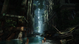 Crysis 3 Nvidia Apocalyptic City Cinematic PC Gaming Skyscraper CryEngine 5120x2880 Wallpaper