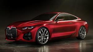 Bmw Concept 4 Car Concept Car Coupe Luxury Car Red Car 1920x1080 wallpaper