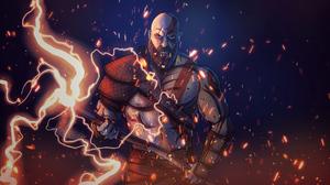 Kratos God Of War Warrior 3840x2160 Wallpaper
