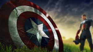 Captain America Shield Marvel Comics 3840x2400 Wallpaper