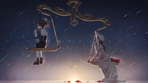 Anime Girls Anime 3200x2000 Wallpaper