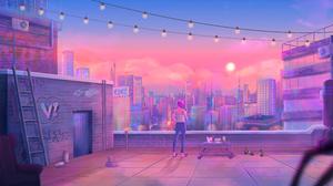 Artistic City 5120x2880 Wallpaper