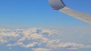 Sky Cloud Aircraft Airplane 1920x1080 Wallpaper