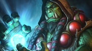 Orc World Of Warcraft 2096x1180 wallpaper