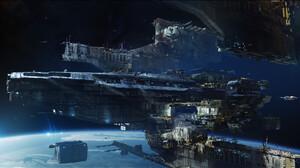 Artwork Science Fiction Space Spaceship 1920x1173 Wallpaper