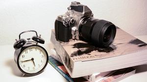 Book Camera Clock Nikon Still Life 2048x1365 Wallpaper