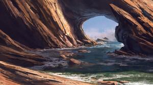 Andreas Rocha Digital Art Landscape 2500x1255 wallpaper