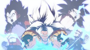 Dragon Ball Dragon Ball Z Dragon Ball GT Gogeta Dragon Ball FighterZ Super Saiyan 4 Black Lives Matt 3102x1718 Wallpaper