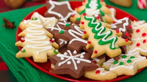 Christmas Cookie Gingerbread 2560x1701 Wallpaper