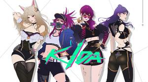 Park JunKyu Drawing League Of Legends Kda Women Akali League Of Legends Ahri League Of Legends KaiSa 1500x1004 wallpaper