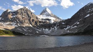 Mountains Lake 4288x2848 wallpaper