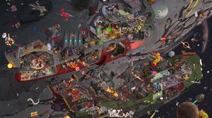 Sci Fi Battle 2000x1413 wallpaper