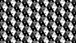 Triangle Square Artistic Digital Art Hexagon 1920x1080 Wallpaper
