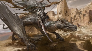 Armor Dragon Warrior 1920x1080 wallpaper