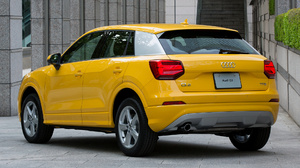 Audi Q2 Tfsi Car Crossover Car Luxury Car Suv Subcompact Car Yellow Car 1920x1080 Wallpaper