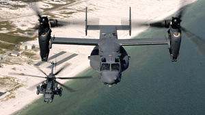 Bell Boeing V 22 Osprey Helicopter Aircraft Sikorsky MH 53 2940x1953 Wallpaper