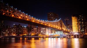 Manhattan New York Queensboro Bridge 2048x1366 Wallpaper