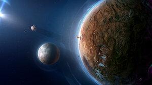 Artwork Space Planet Fantasy Art 1689x1154 Wallpaper
