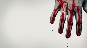 Blood Creepy Dark Horror 2560x1440 wallpaper
