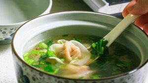 Food Soup Herb Spoon Dumplings 1920x1080 Wallpaper
