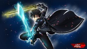 Kirito Sword Art Online Kazuto Kirigaya 4000x2250 Wallpaper