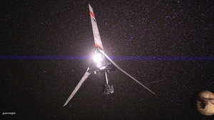 3d Cgi Digital Art Robot Sci Fi Star Wars T 16 Skyhopper 4100x2305 Wallpaper