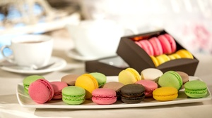 Macaron Still Life Sweets 2100x1322 wallpaper