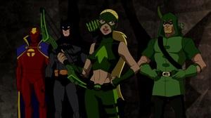 Artemis Crock Batman Green Arrow Oliver Queen Red Tornado Arrowette Dc Comics Man Young Justice Tv S 1920x1080 Wallpaper