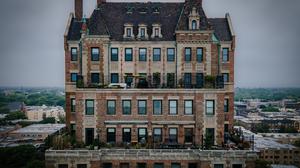 Chicago Architecture Skyline Aerial City Cityscape 3169x2195 wallpaper