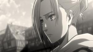 Annie Leonhart Attack On Titan Black Amp White Shingeki No Kyojin 2560x1600 Wallpaper