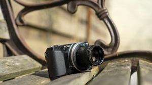 Camera Close Up Sony 6000x4000 wallpaper