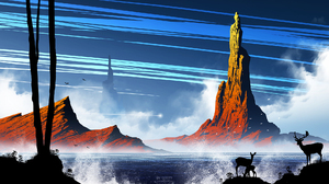 Fantasy Landscape 1920x1080 Wallpaper