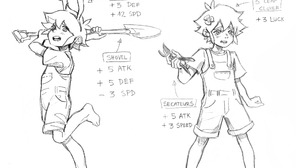 Basil Omori Feet Omori Video Game Shovel Animal Ears Tears Barefoot 2048x1738 Wallpaper