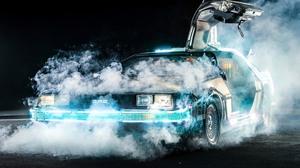 Car Coupe Delorean Dmc 12 Back To The Future Futuristic Gull Wing Door Sport Car 3840x2160 Wallpaper