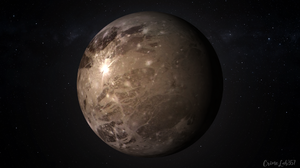 Space 3D Graphics Watermarked Planet 1920x1080 Wallpaper