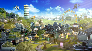 Building City Forge Of Empires 2304x1296 wallpaper