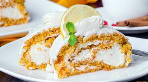 Food Sweets Cake Lemon Cake 1920x1080 Wallpaper