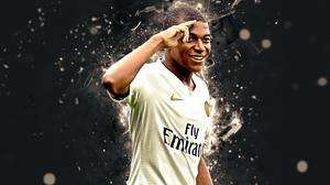 Kylian Mbappe Paris Saint Germain F C Soccer 3840x2400 Wallpaper