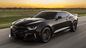 Black Car Car Chevrolet Chevrolet Camaro Muscle Car Vehicle 4314x2427 wallpaper