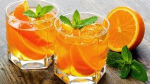 Drink Fruit Glass Orange Fruit 2560x1600 Wallpaper