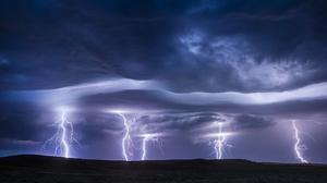 Cloud Lightning Nature 2048x1365 Wallpaper