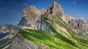 Alps Italy Mountain Peak Rock 5120x3415 Wallpaper