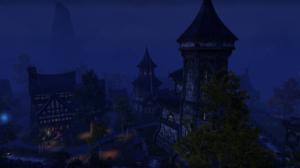 The Elder Scrolls Online Blue PC Gaming Town 2752x1152 Wallpaper